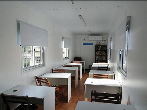 Instalación de aula nueva
