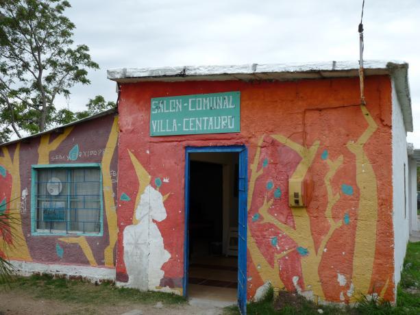 """""""Espacio cultural y recreativo, Barrios Unidos, Villa García"""""""