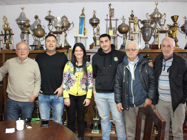 H. Chaine, A. Doktorovitch, K. Rodríguez, F. Castelli, A. Galeazzi y L. A. Pittaluga.