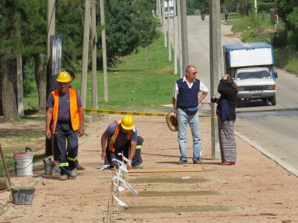 Caminería Monte de la Francesa - Foto: cortesía Municipio G