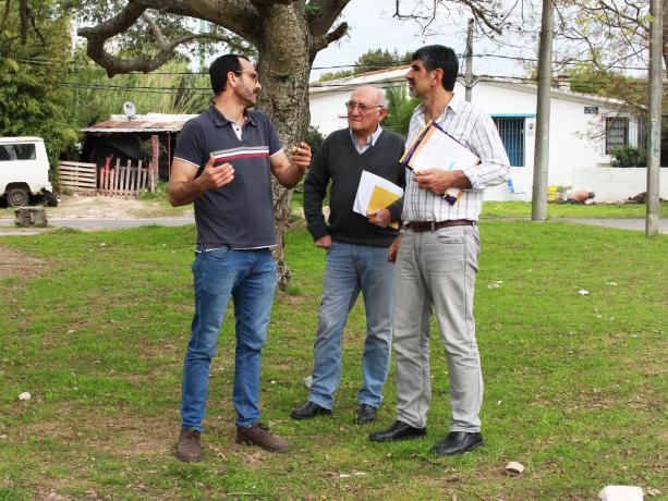 Germán De Giobbi, Agustín Deleo, Miguel Pereira.