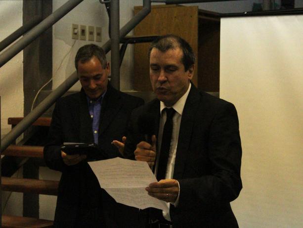 Director del Liceo 58, José Carlos Tuñas