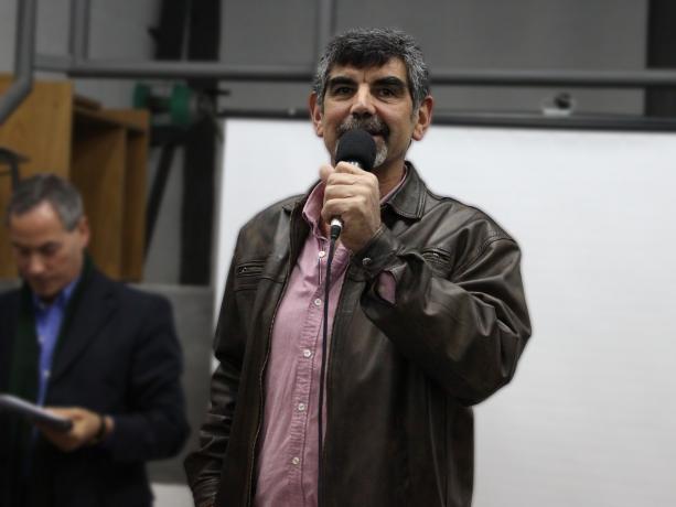 Coordinador de la Unidad de Participación de la IM, Miguel Pereira