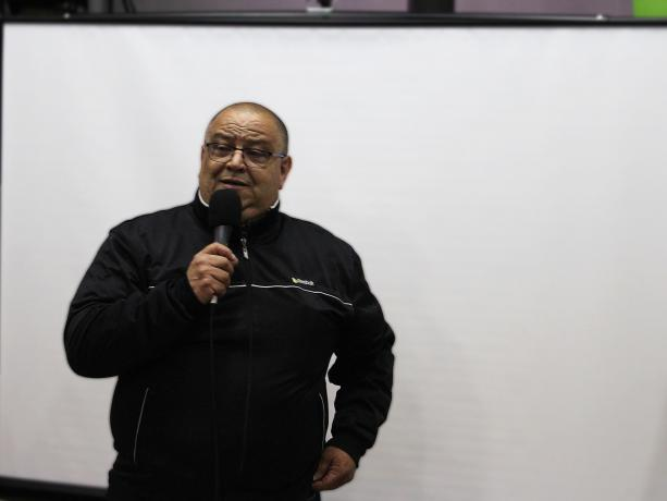 Alcalde del Municipio F, Francisco Fleitas
