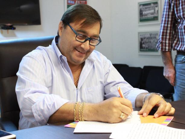Alejandro Mazzeo, Presidente del Club