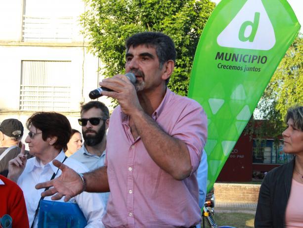 Coordinador de la Unidad de Participación y Planificación Miguel Pereira