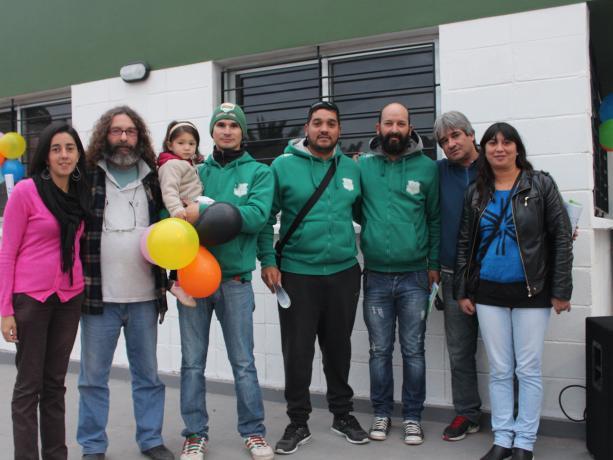 Inauguración en Club Fray Bentos. Fotos Cortesía Municipio D.