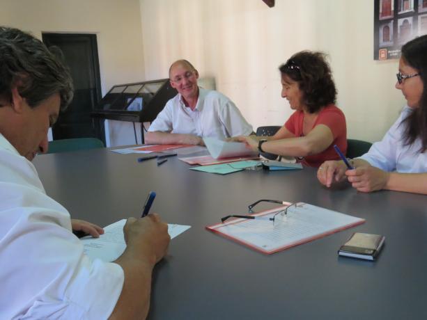 El alcalde Silva firma el convenio