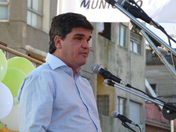 Presidente del INAU Javier Salsamendi