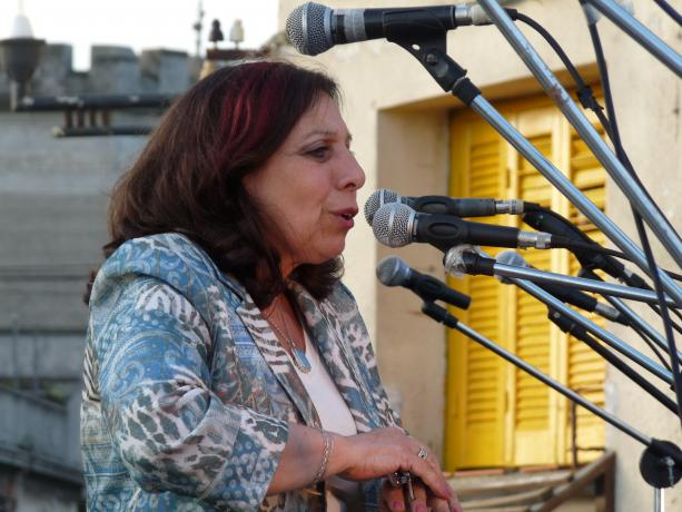 La intendenta Ana Olivera