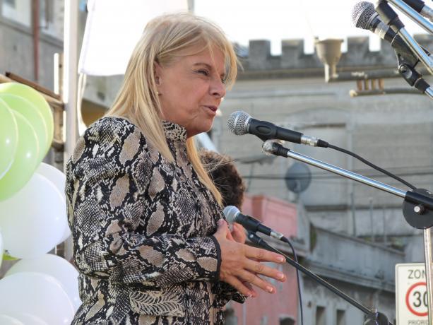 Susana Mara, coordinadora de Políticas de Primera Infancia del INAU