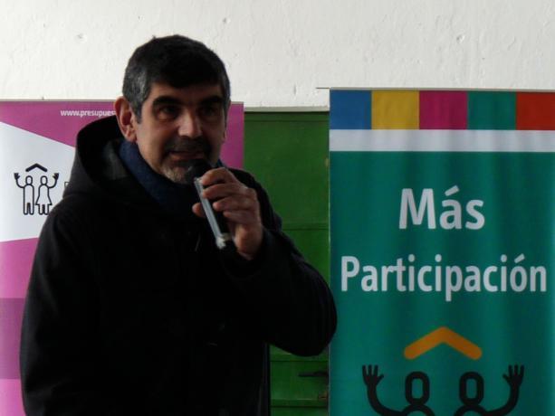 Jefe Coordinador de la Unidad de Participación de la Intendencia de Montevideo, Miguel Pereira
