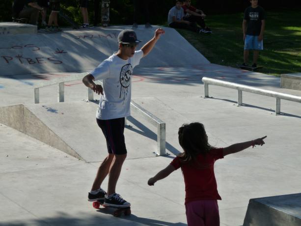 Pista de skate en Espacio Harald Edelstam