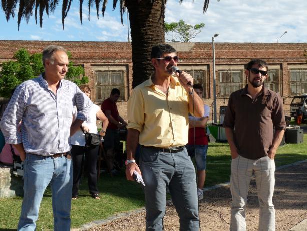 Dir. Jorge Buriani, Coord. Miguel Pereira, Alcalde Rodrigo Arcamone