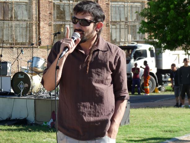Alcalde del Municipio C, Rodrigo Arcamone