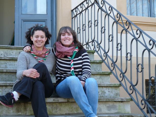 Andrea Álvarez y Sofía Zanolli