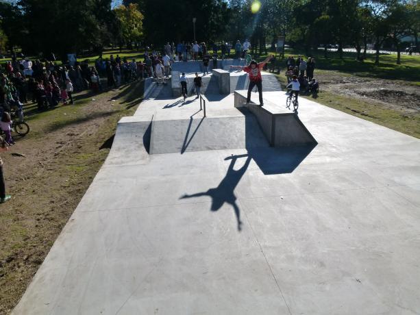 Inauguración Patrulla Skate Park - foto: cortesía Municipio A