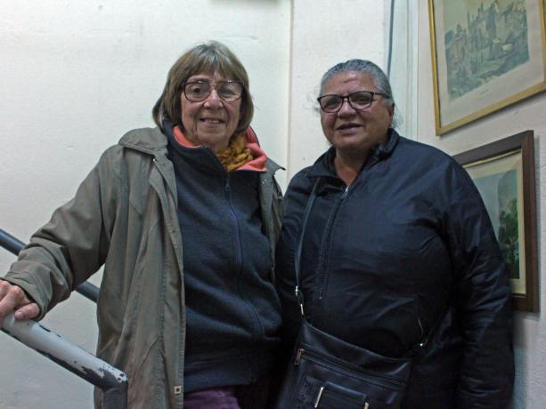 """Susana Marmo y Shirley """"Pelusa"""" Medina"""