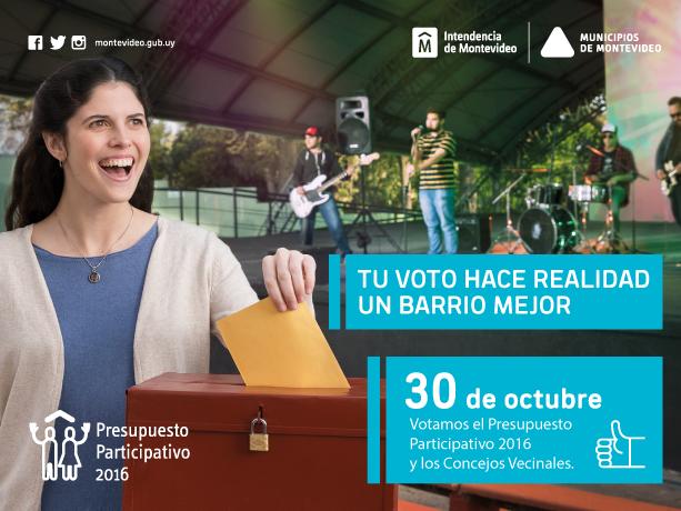 Imagen de campaña de elecciones para PP y CV 2016