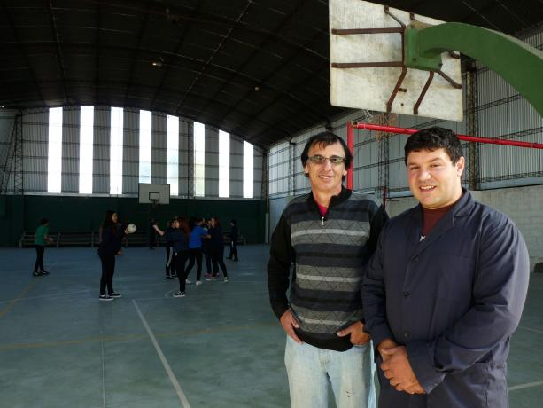 Sergio Lima y Rodolfo Silvera