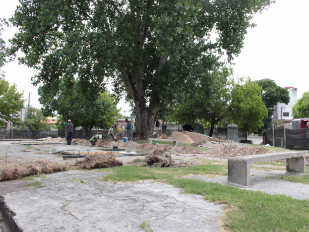 Recuperando espacio público en Santiago Rivas