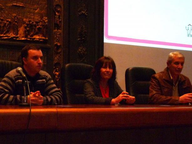 Adrián Caldeiro, Mariella Mazzotti y Willan Masdeu