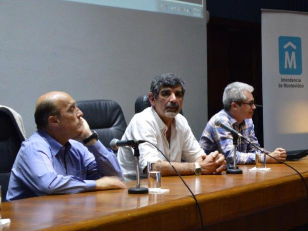 Daniel Martínez, Miguel Pereira, Gabriel Rebollo.