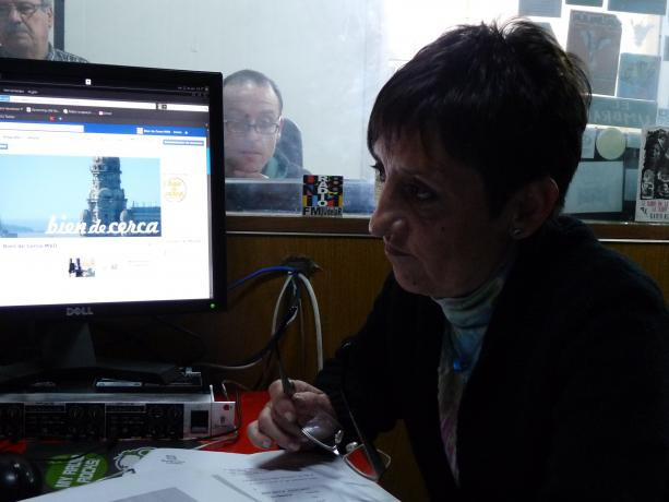 Elisa Balea, directora del Servicio de Proyectos y Programas Sociales del Departamento de Desarrollo Social de la Intendencia por el Programa Cocina Uruguay.