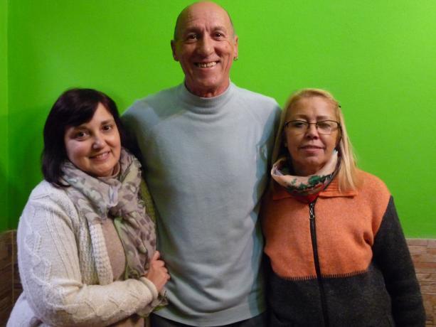Silvia Posse, José Acuña y Graciela Hernández
