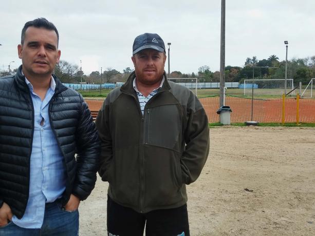 Nelson Acevedo y Alejandro Villagra