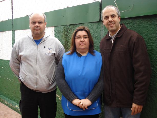 Leonel Moreira, Rosana Méndez y Ricardo Moreira