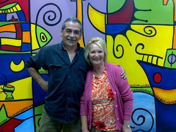 Eduardo Chatón y Margarita Queirolo
