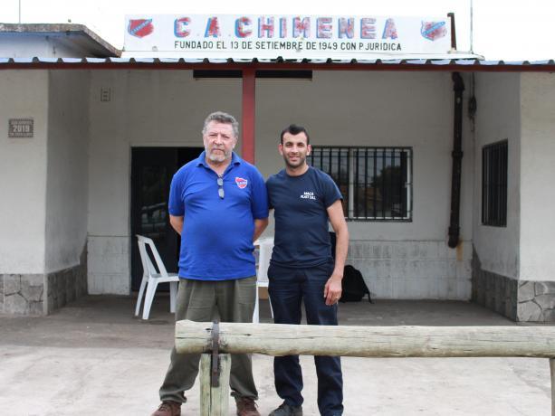 Luis Cardozo y Freddy Caraballo.
