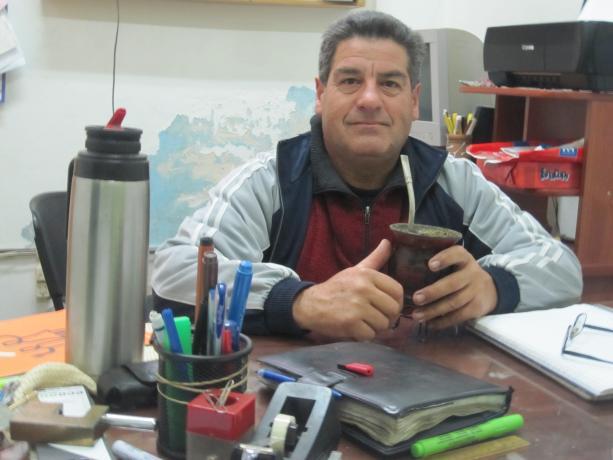 Presidente del Club Nuevo América de Baby Fútbol - William Paula