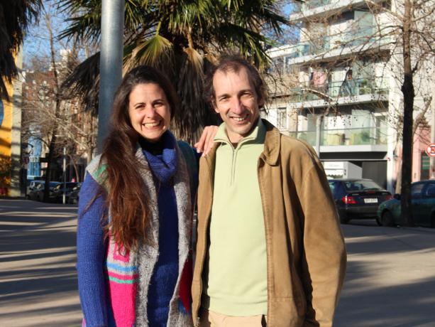 Carolina Álves y Héctor Rodríguez