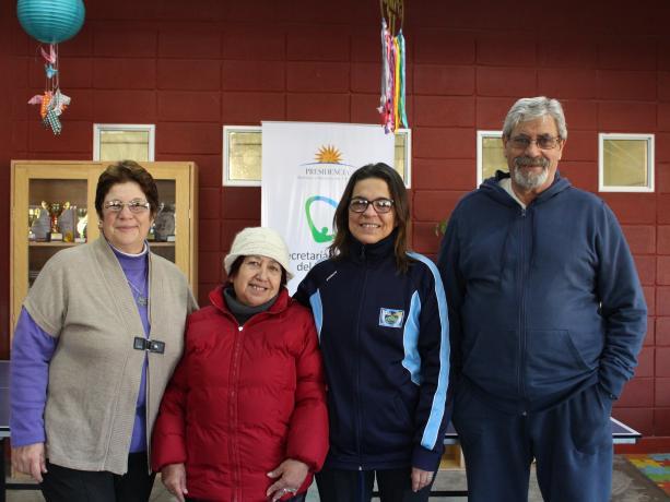 Elizabeth Gazzo, Graciela Dure, Anahí Presa y Luis Ubiña