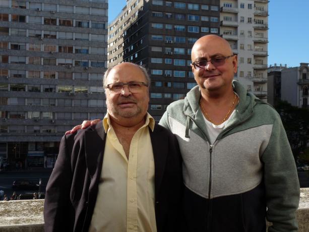 Eduardo Cóppola y Daniel Sio