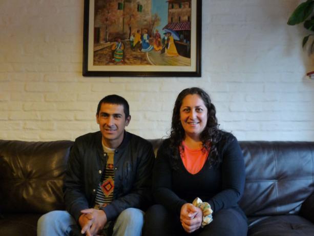 Gustavo Sosa y Celia Villanueva