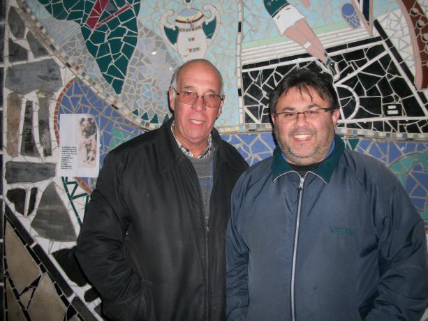 Ruben Caballero y Carlos Pavón