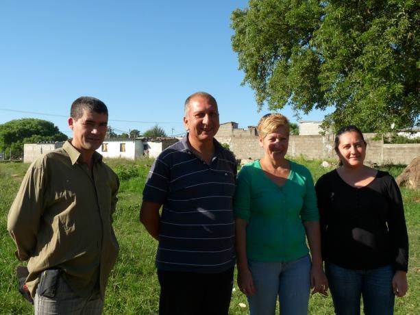 Alfredo Silveira, Avelino Rodríguez, Nancy Valli y Gimena Puyol