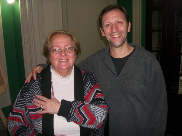 Lucila Irazábal y Sergio Mautone