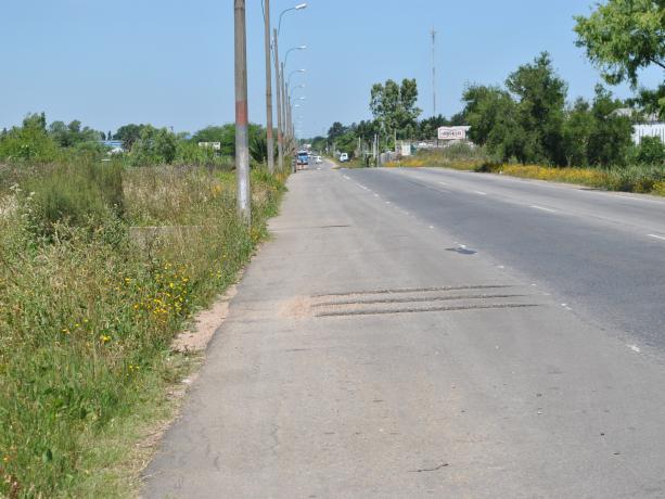 Senda Peatonal en Av Luis Batlle Berres y Cno Sosa