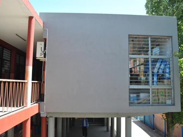 Biblioteca de puertas abiertas en Liceo Nº 43 y Escuela Nº 159