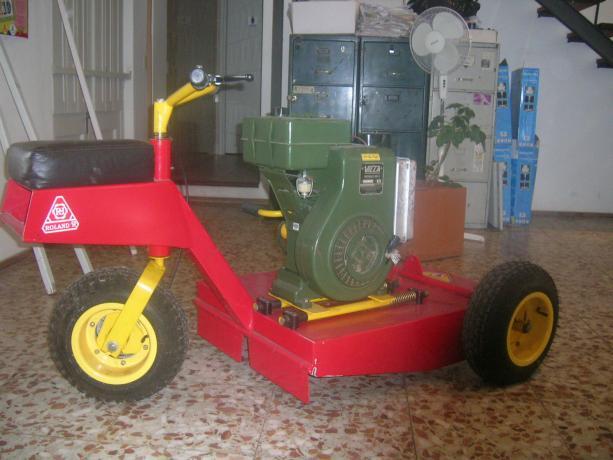 Motocortadora para uso en todo el barrio