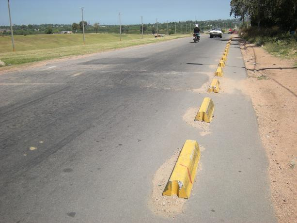 Caminería del Complejo Educativo Quinta de Batlle
