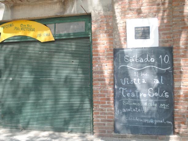 Área cultural en Casa Mario Benabbi