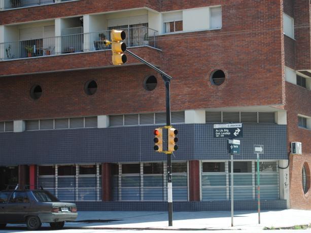 Semáforos en Libertador y Nueva York