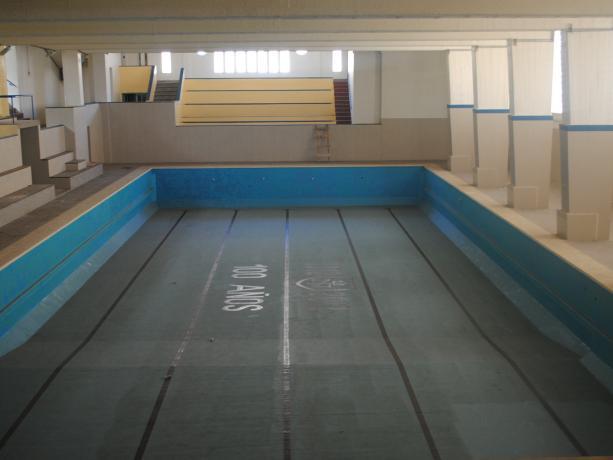 Recuperación de piscina de 25 metros del Club Neptuno