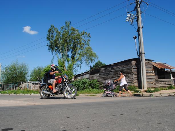 Pavimento de calle Rafael