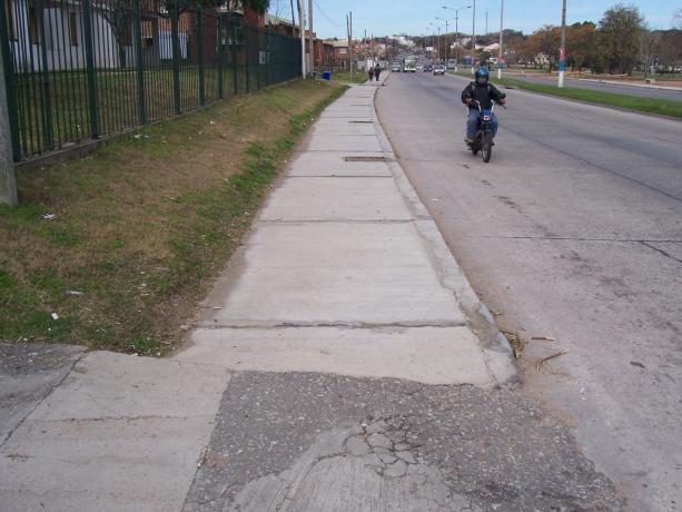 Veredas y cordón cuneta en Lavalleja